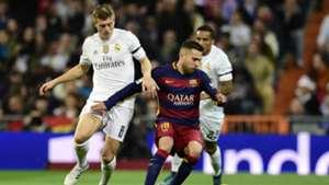 Toni Kroos Jordi Alba Real Madrid Barcelona La Liga