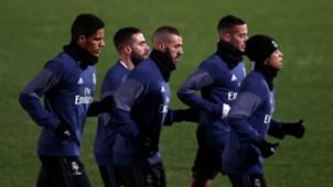 Real Madrid training CWC