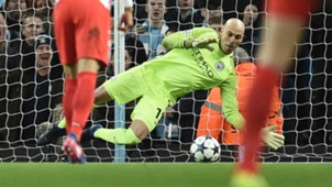 Willy Caballero Manchester City Monaco Champions League