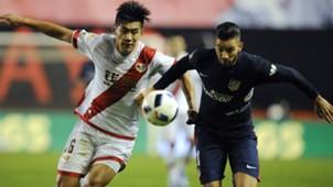 Chengdong Zhang Ferreira Carrasco Rayo Vallecano Atletico Madrid Copa del Rey