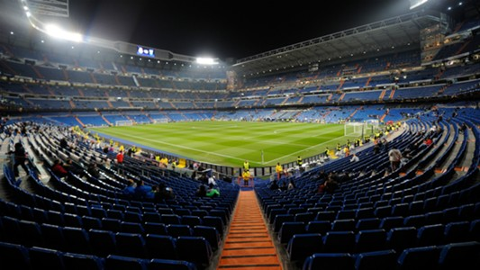Santiago Bernabeu Real Madrid Malmoe UEFA Champions League 08122015