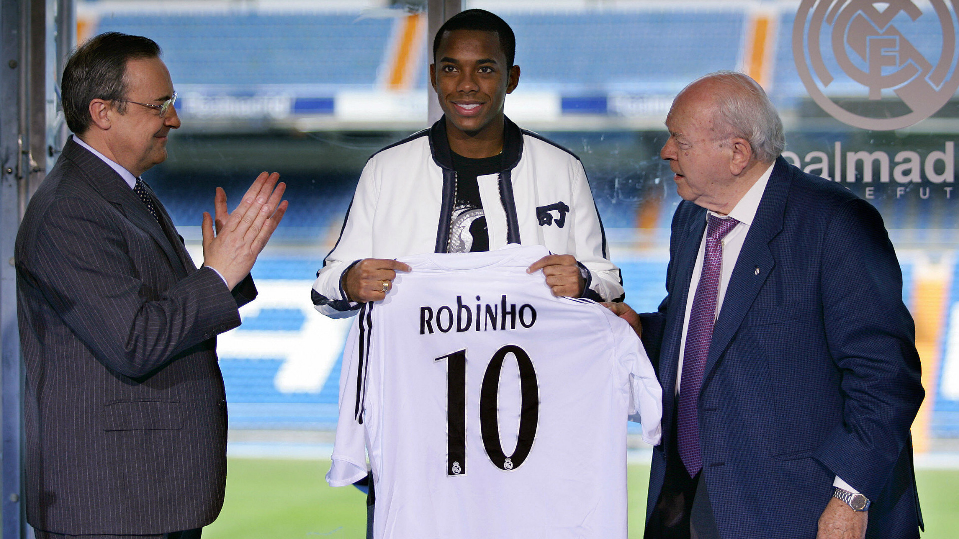 Robinho ex Real Madrid player