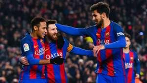 Neymar Messi Andre Gomes Barcelona Real Sociedad Copa del Rey 26012017