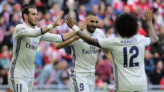 Karim Benzema Athletic Bilbao Real Madrid La Liga