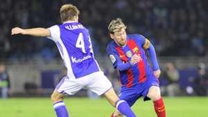 llarramendi Messi Real Sociedad Barcelona LaLiga
