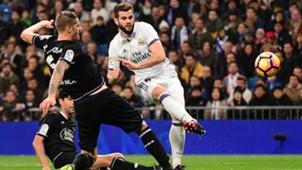 Nacho Fernandez Raul Albentosa Real Madrid Deportivo LaLiga Santander
