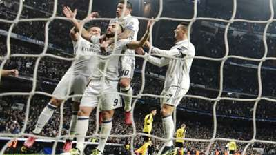 Benzema James Ronaldo Real Madrid Borussia Dortmund Champions League