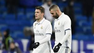 Mateo Kovacic Karim Benzema Real Madrid