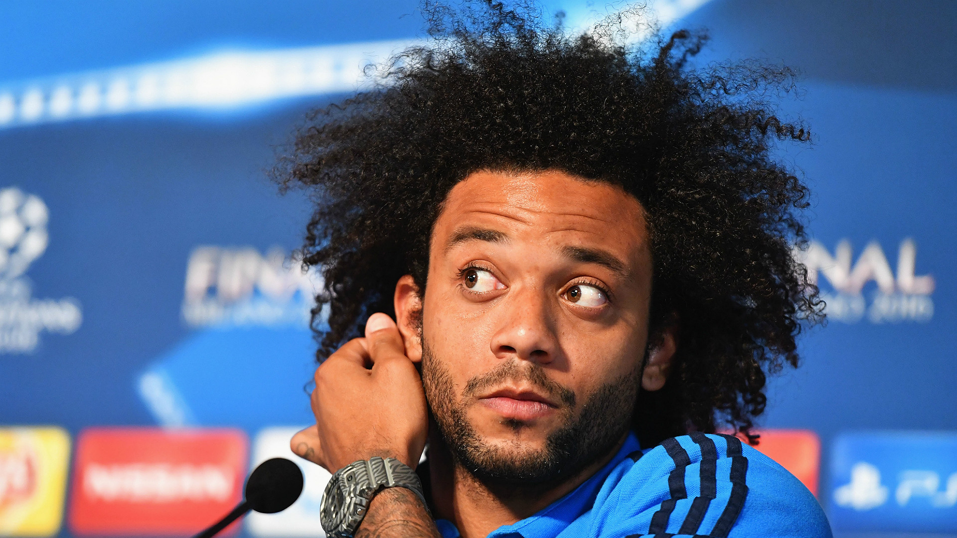 Marcelo Viera Real Madrid UEFA Champions League press conference 27052016