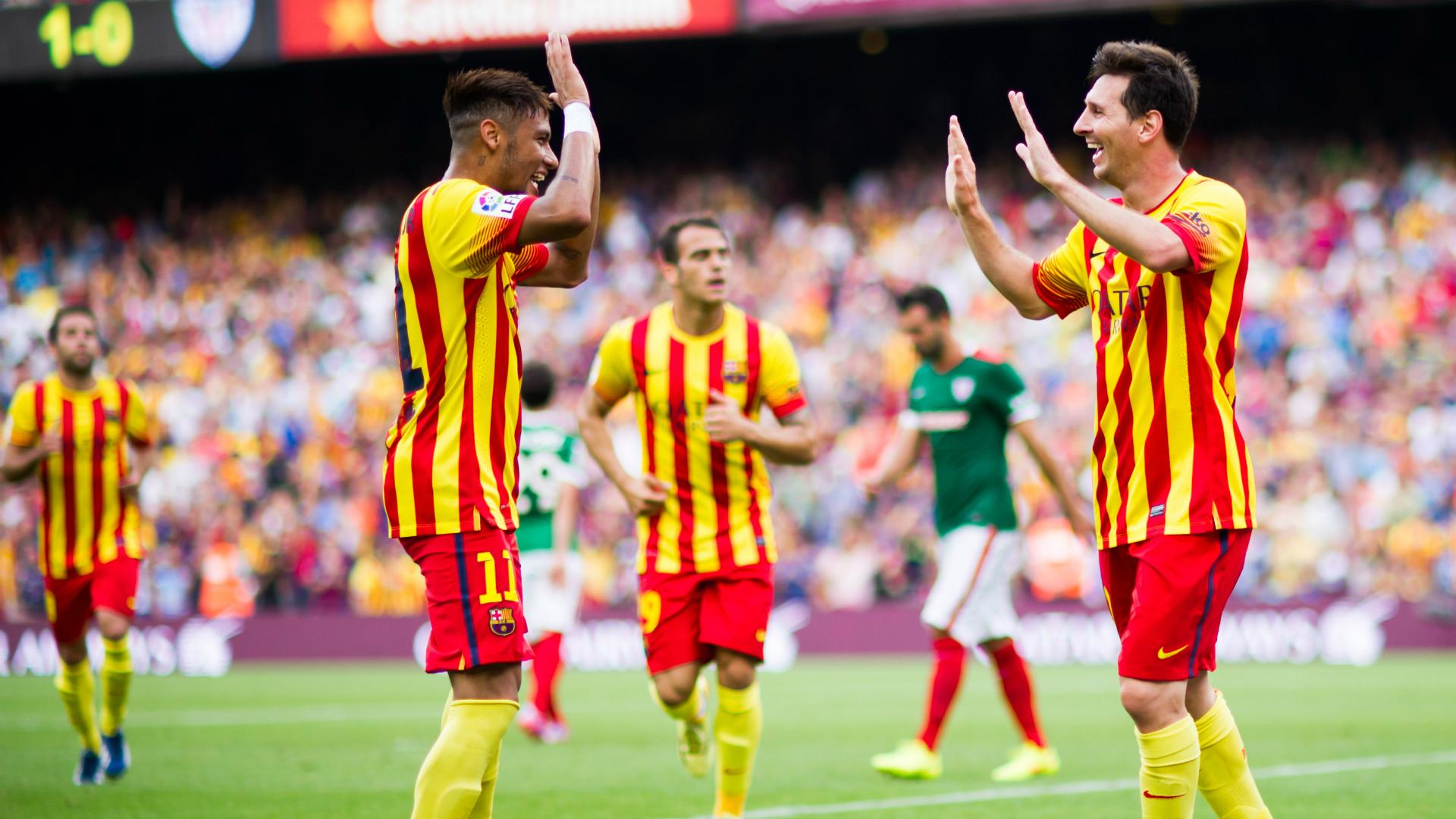 13/09/2014 | Barcelona 2-0 Athletic (Neymar x2) | La Liga