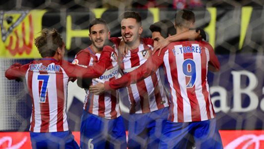 Atletico Madrid celebrates Atletico Madrid Betis La Liga