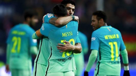 Messi Luis Suarez Atletico Madrid Barcelona Copa del Rey