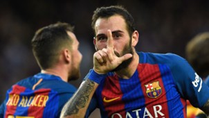 Aleix Vidal Neymar Messi FC Barcelona Athletic LaLiga