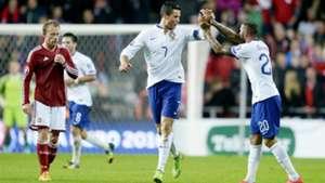 Cristiano Ronaldo Denmark Portugal 14102014 Euro 2016 Qualifier