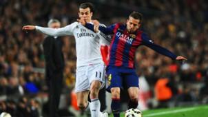 Barcelona Real Madrid La Liga Gareth Bale Jordi Alba 22032015