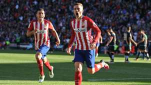 Antoine Griezmann Angel Correa Atletico Madrid Rayo Vallecano La Liga 30042016