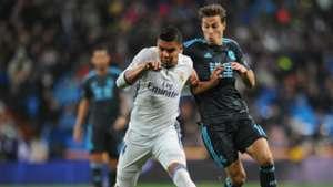 Casemiro Canales Real Madrid Real Sociedad LaLiga 29012017