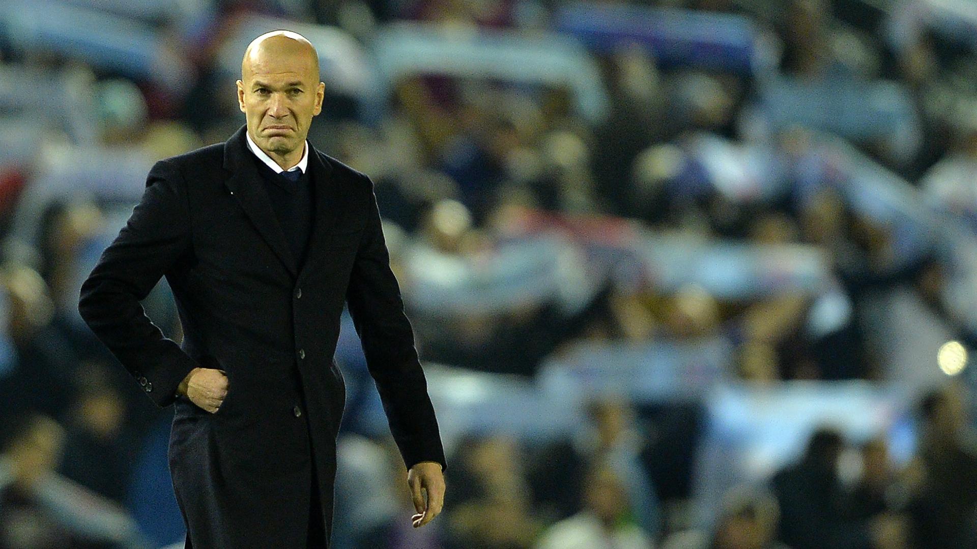 Zinedine Zidane Celta Real Madrid Copa del Rey