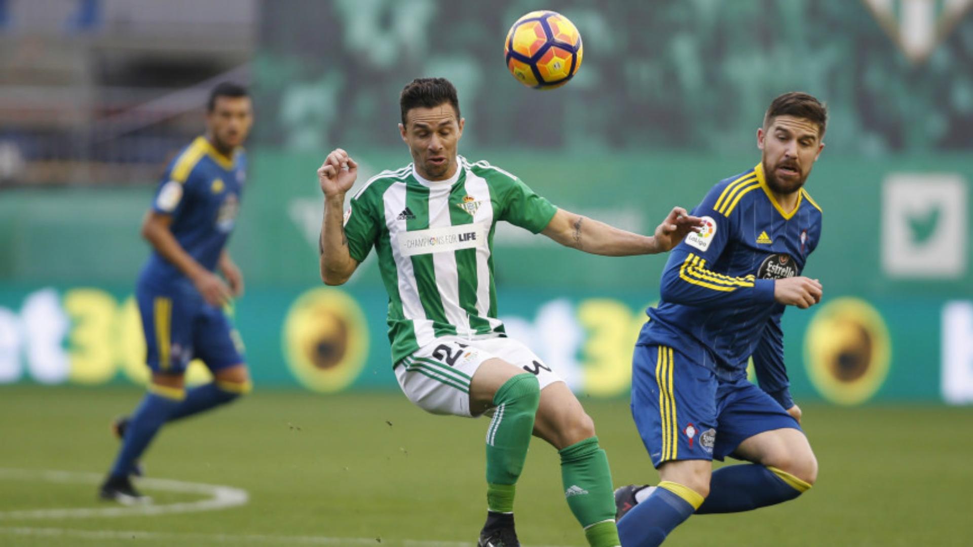 Ruben Castro Andreu Fontas Betis Celta La Liga