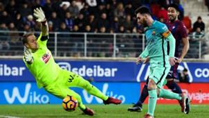 Yoel Lionel Messi Eibar Barcelona LaLiga 22012017