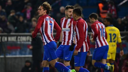 Griezmann Correa Atletico Madrid Las Palmas Copa del Rey
