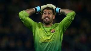 Valdes PSG Barcelona Champions League 04022013