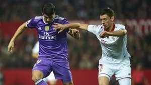 Clement Lenglet Alvaro Morata Sevilla Real Madrid Copa del Rey