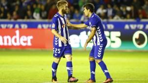 Aleksandar Katai Manu Garcia Alaves Deportivo Coruna La Liga