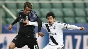 Fabio Coentrao Legia Warsaw Real Madrid Champions League
