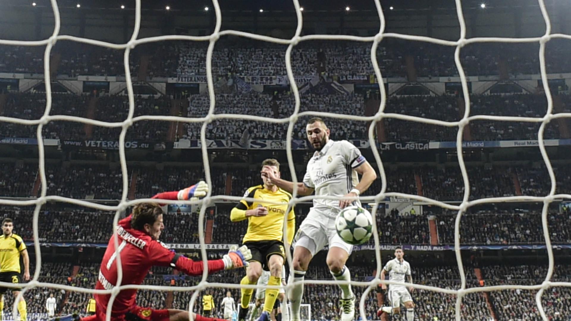Benzema Weidenfeller Real Madrid Borussia Dortmund Champions League