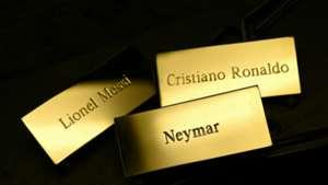 Balon de Oro Cristiano Ronaldo Messi Neymar