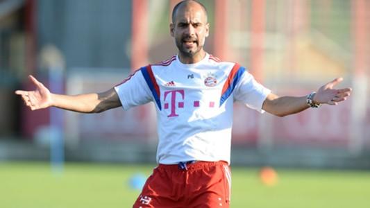 Pep Guardiola Bayern Munich Training 08092914