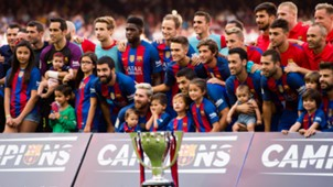 Barcelona La Liga trophy