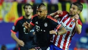 Arturo Vidal Gabi Atletico Madrid Bayern Munich 270416