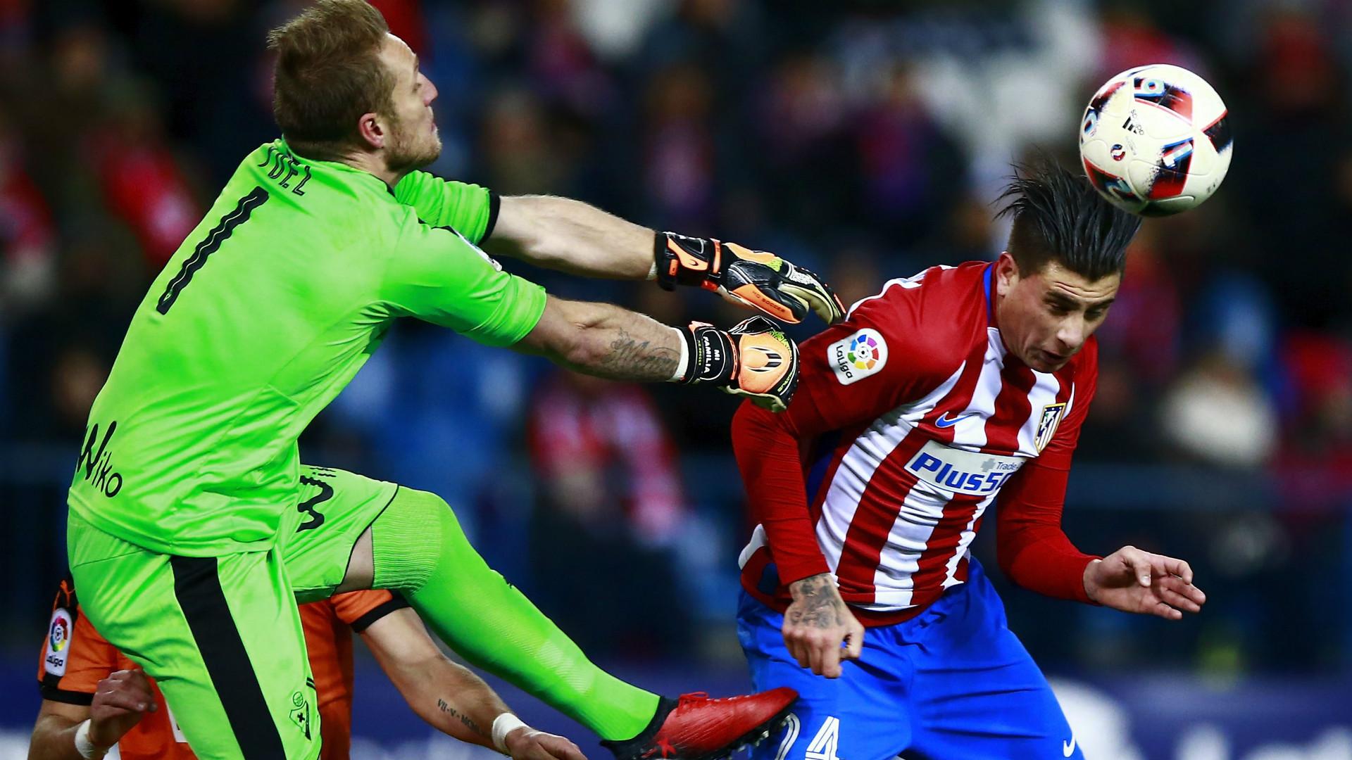 Joel Jose Maria Gimenez Atletico Madrid Eibar Copa del Rey