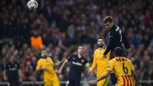 Antoine Griezmann Dani Alves Atletico Madrid Barcelona 130416