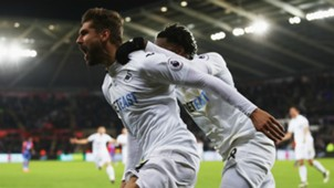 Llorente Swansea City Crystal Palace Premier League