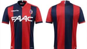 La nuova maglia del Bologna