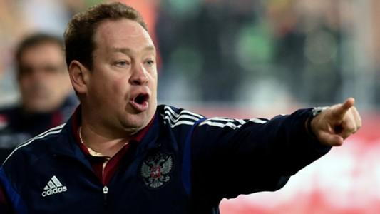 Leonid Slutsky Russia Montenegro Euro 2016 Qualifications