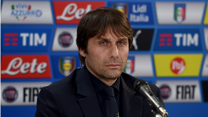 Antonio Conte during press conference ahead Italy-Spain friendly
