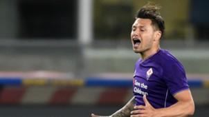 Mauro Zarate Chievo Fiorentina Serie A 30042016