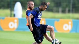 Daniele De Rossi Thiago Motta Italy