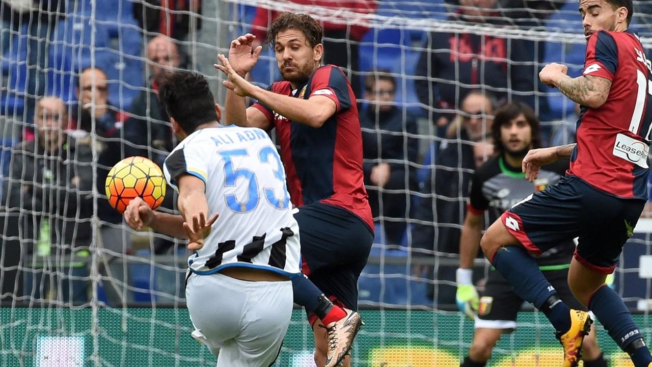 Ali Adnan Genoa Udinese Serie A