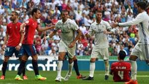 Real Madrid Osasuna La Liga 10092016