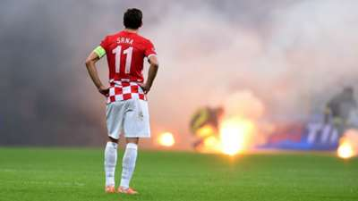 Italy Croatia fireworks