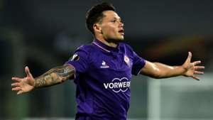 Mauro Zarate Fiorentina Qarabag Europa League