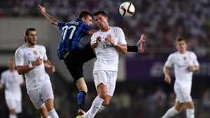 Cristiano Ronaldo Inter Real Madrid