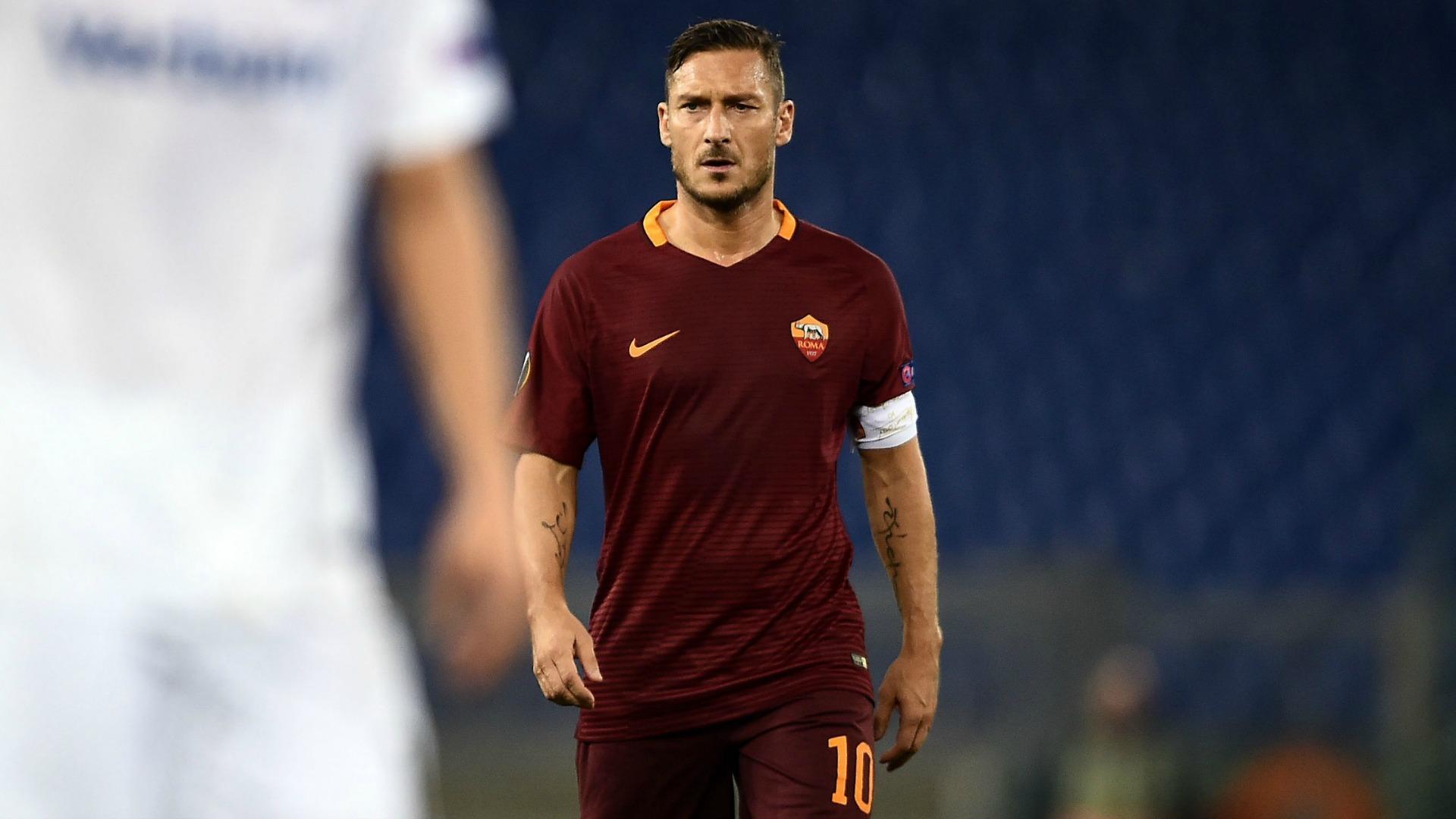 Francesco Totti Roma Austria Vienna
