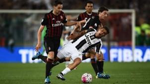 Bonaventura Dybala Milan Juventus Coppa Italia