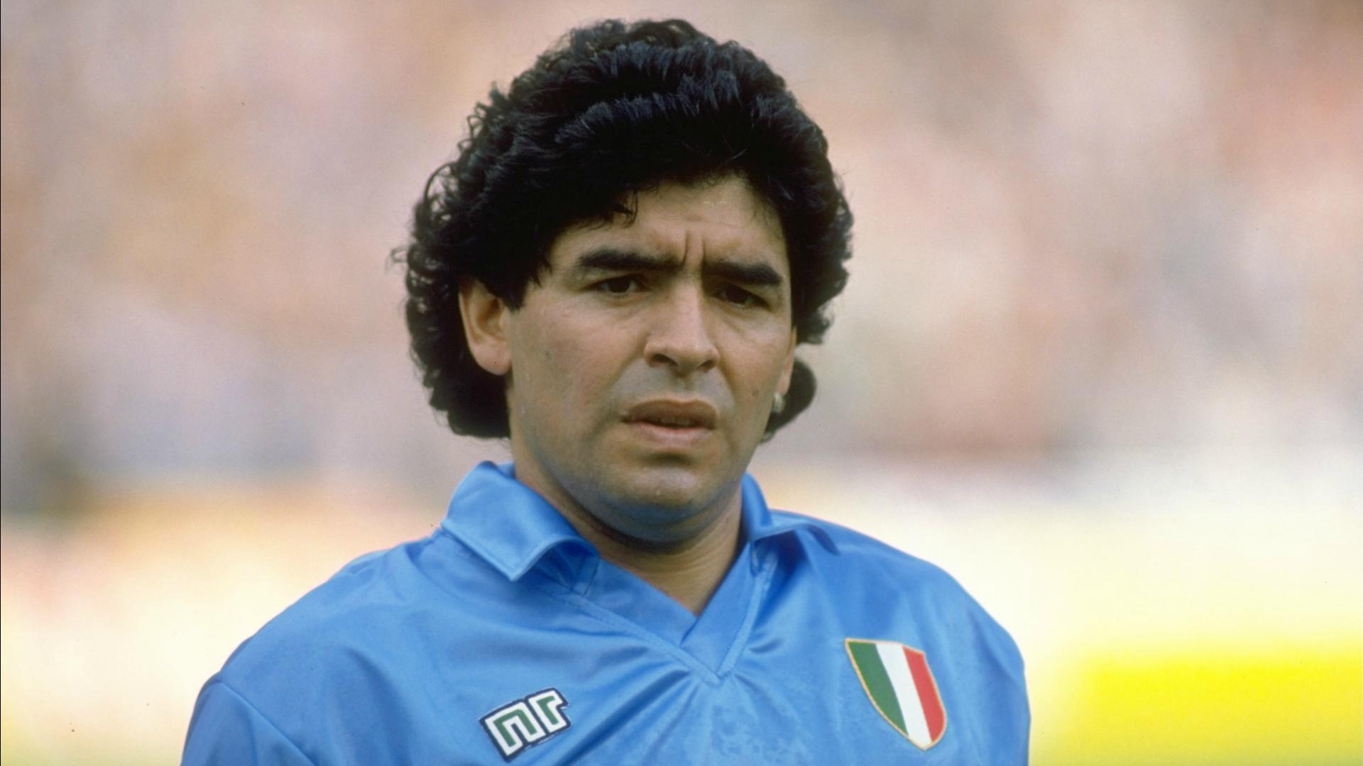 Diego Armando Maradona Napoli 1990-91